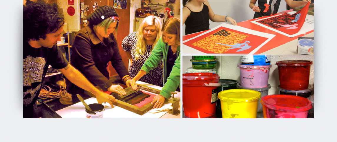 screen printing workshop Norman Park
