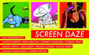 SCREEN DAZE HEADER