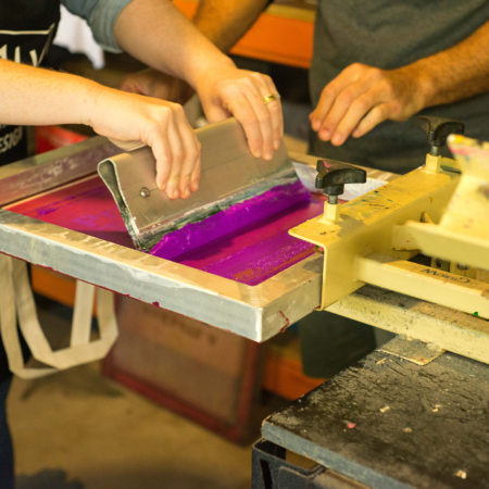 Workshops, Vouchers & Screenprinting Kits